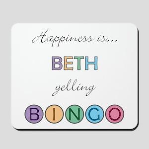 Beth BINGO Mousepad