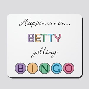 Betty BINGO Mousepad