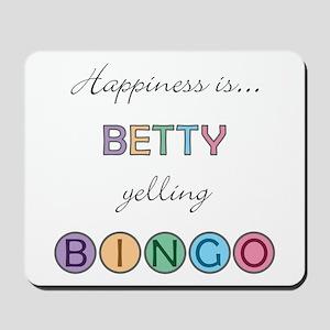 Betty BINGO Mousepad