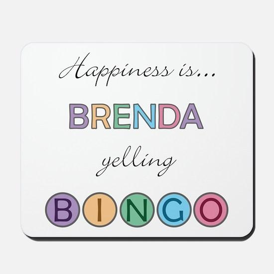 Brenda BINGO Mousepad