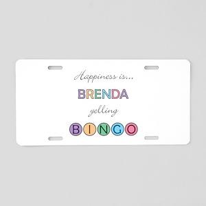 Brenda BINGO Aluminum License Plate