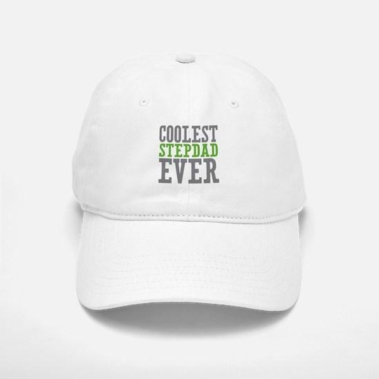 Coolest Stepdad Baseball Baseball Cap