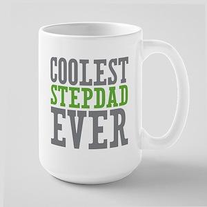 Coolest Stepdad Large Mug