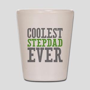 Coolest Stepdad Shot Glass