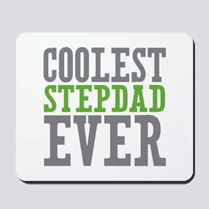 Coolest Stepdad Mousepad
