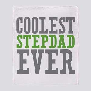 Coolest Stepdad Throw Blanket