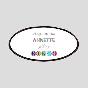 Annette BINGO Patch