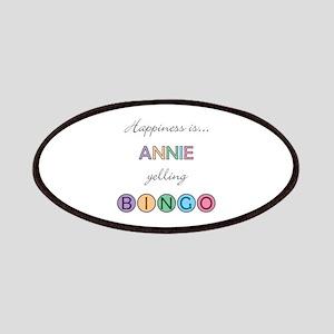 Annie BINGO Patch