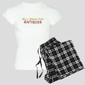 Will Brake For Antiques Women's Light Pajamas