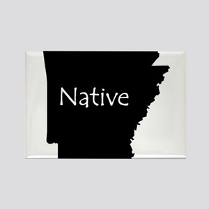 Arkansas Native Rectangle Magnet
