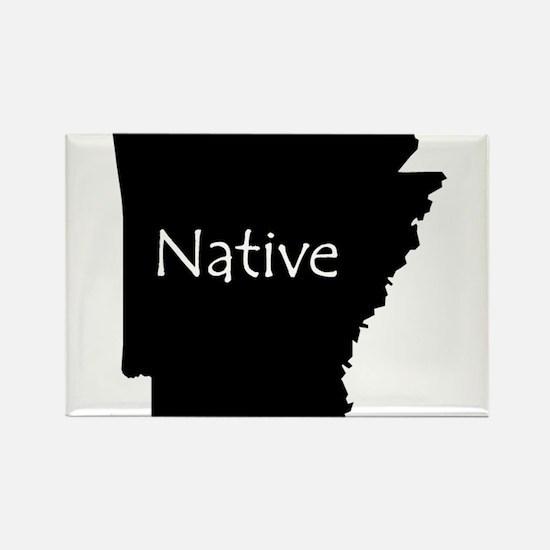 Arkansas Native Rectangle Magnet