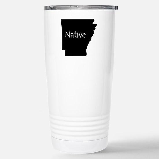 Arkansas Native Stainless Steel Travel Mug