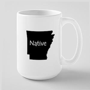 Arkansas Native Large Mug