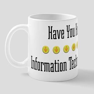 Hugged Information Mug
