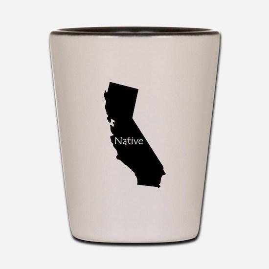 California Native Shot Glass