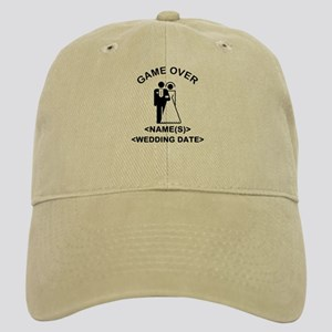 Game Over (Names and Wedding Date) Cap