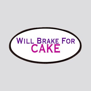 Will Brake For Cake Patches