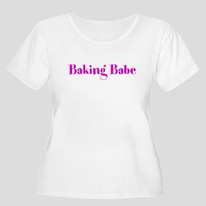 Baking Babe Women's Plus Size Scoop Neck T-Shirt