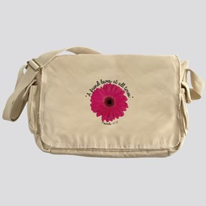 A Friend Loves At All Times Messenger Bag