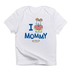"Baby Odie ""Heart Mommy"" Infant T-Shirt"
