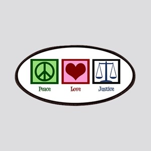 Peace Love Justice Patches