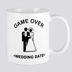 Game Over (Type In Your Wedding Date) Mug