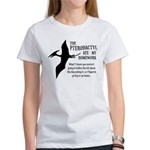 Pterodactyl Ate My Homework Women's T-Shirt