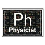 Physicist Retro Banner
