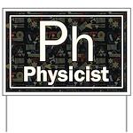 Physicist Retro Yard Sign
