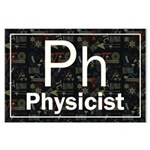 Physicist Retro Large Poster