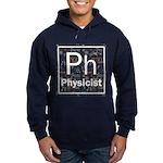 Physicist Retro Hoodie (dark)