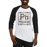 Physicist Retro Baseball Jersey