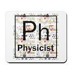 Physicist Retro Mousepad