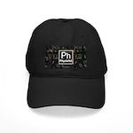 Physicist Retro Black Cap