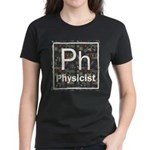 Physicist Retro Women's Dark T-Shirt