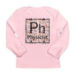 Physicist Retro Long Sleeve Infant T-Shirt