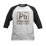 Physicist Retro Kids Baseball Jersey