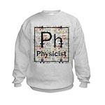 Physicist Retro Kids Sweatshirt