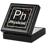 Physicist Retro Keepsake Box