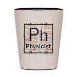 Physicist Retro Shot Glass