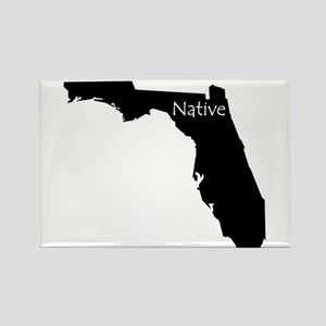 Florida Native Rectangle Magnet