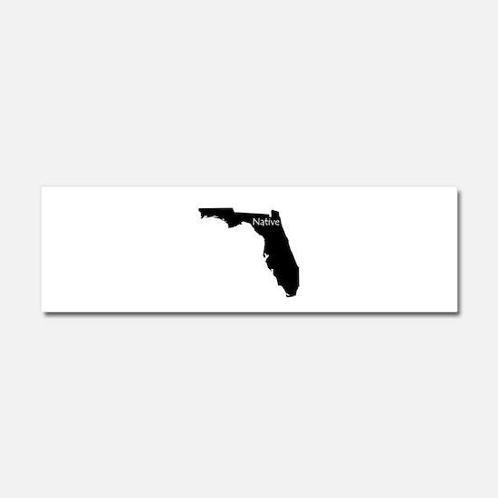 Florida Native Car Magnet 10 x 3