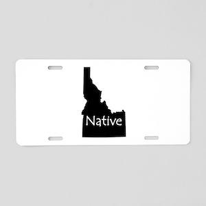 Idaho Native Aluminum License Plate