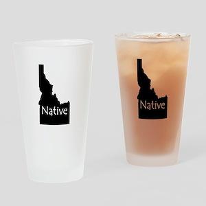 Idaho Native Drinking Glass