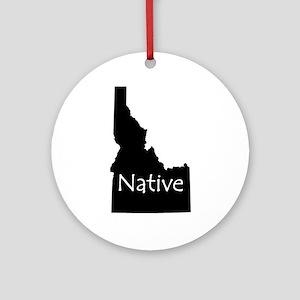 Idaho Native Ornament (Round)