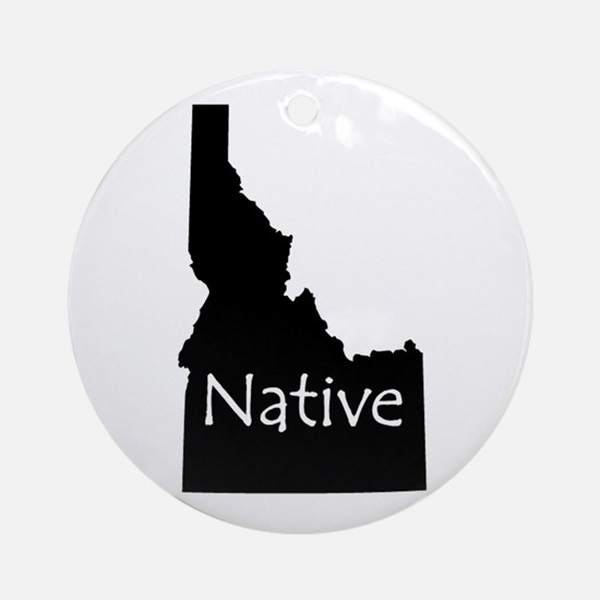 Idaho Native Ornament (Round)