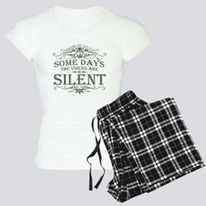 Voices Are Silent Women's Light Pajamas