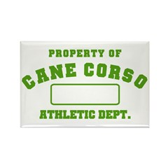 Cane Corso Athletic Dept Rectangle Magnet
