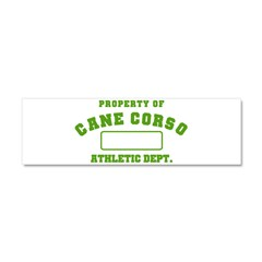 Cane Corso Athletic Dept Car Magnet 10 x 3