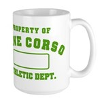 Cane Corso Athletic Dept Large Mug